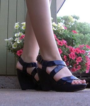 basket heels