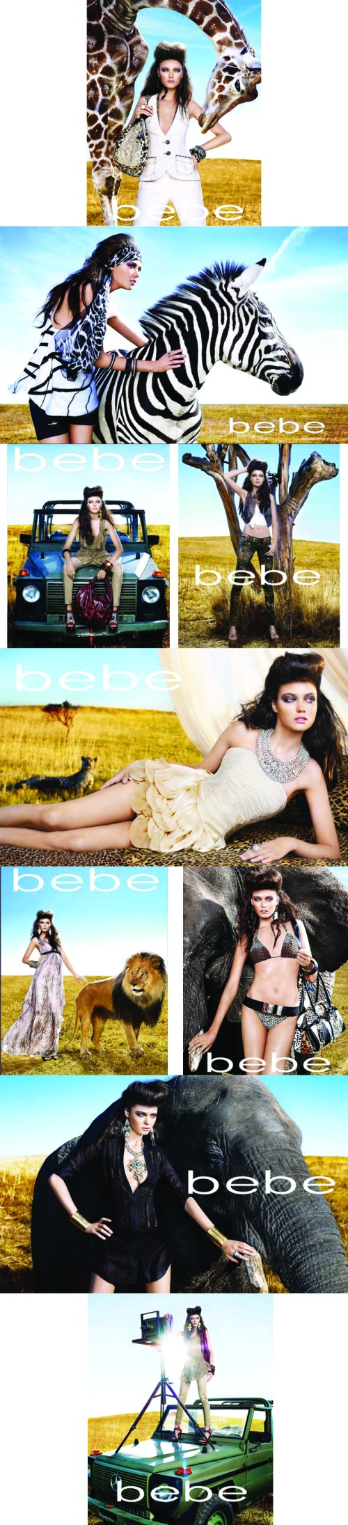 bebe collage