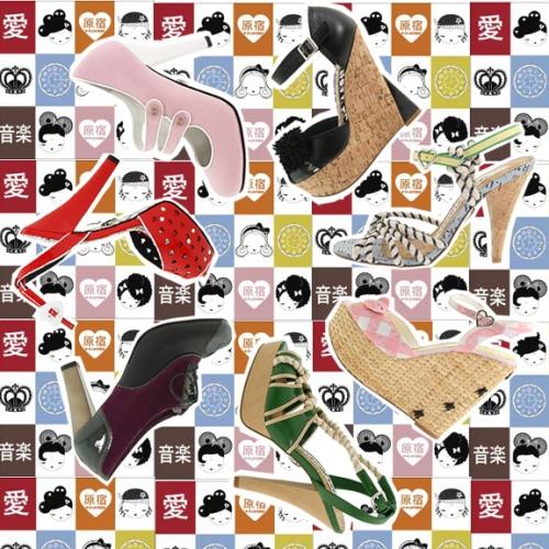 harajuku lovers heels