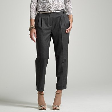 stretch flannel elan trouser